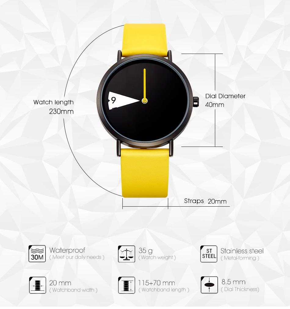 New Creative design revolving Wristwatch