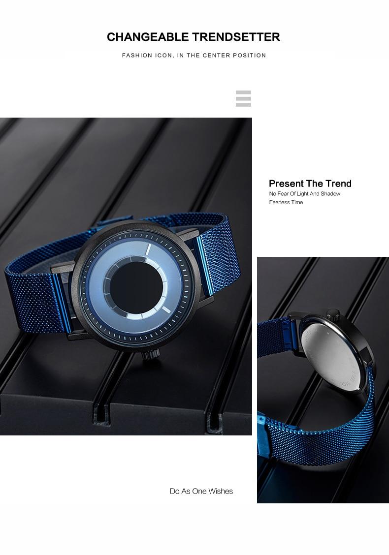 New Generation Rotational Marvel Wristwatch Unisex
