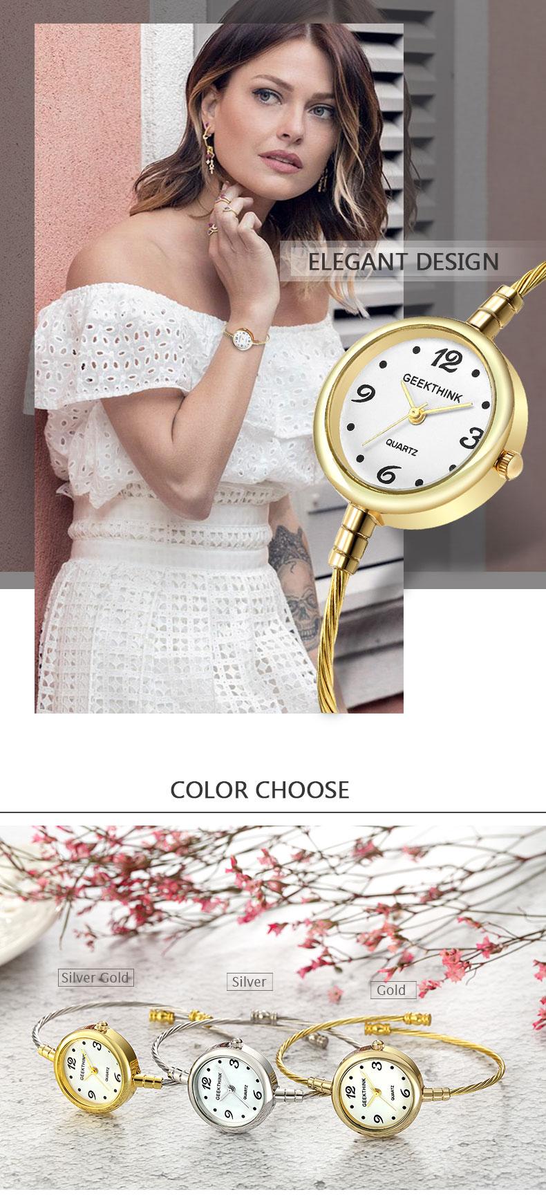 Ladies Fashion Quartz Bracelet Watch