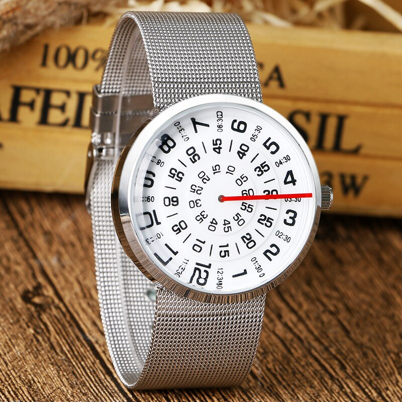 Creative Numbers Casual Wristwatch