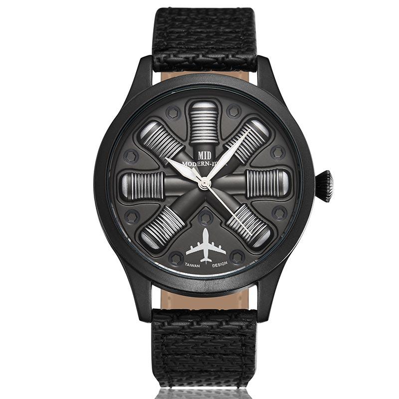 Jet Engine Unique Design Watch