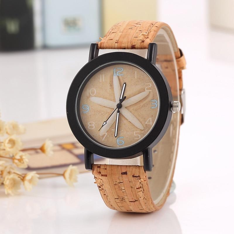 Wood grain Flower Watch