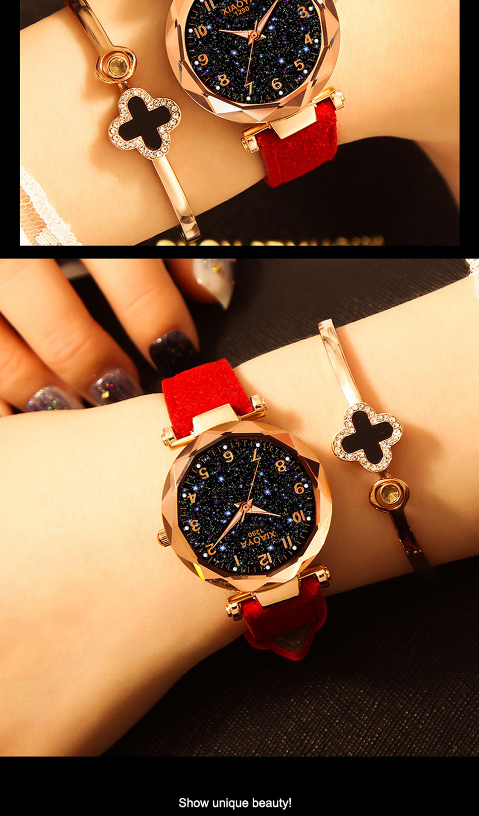 Sky Crystal Flare Watch for Women