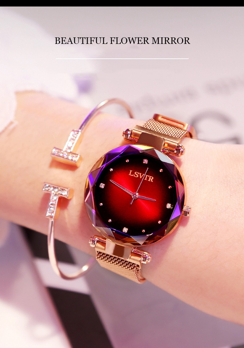 Crystal Lust Wrist Watch for Girls and Women 2020