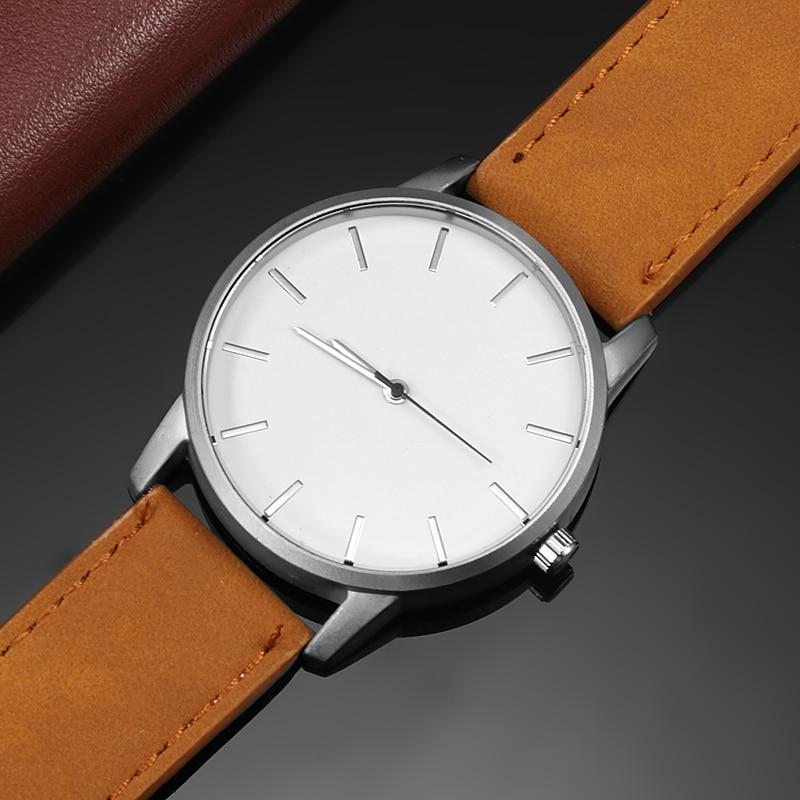Elegant Clean Design Wrist Watch for Men