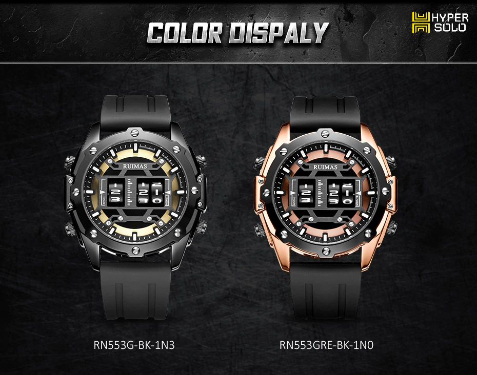 Rolling Time Luxury Watch